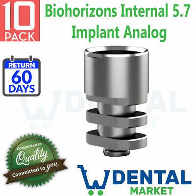 10x Biohorizons Internal 5.7 Implant Analog