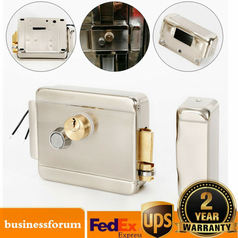 Electric Control Door Lock for Doorbell Intercom Access Control Home Security