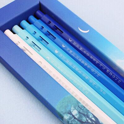 Monami 153 Haemin Sunim Quotes Ballpoint Pens 5PCS Korean Office Supply Blue