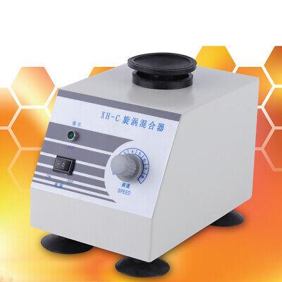 Xh-c Vortex Mixer Fast Mixing Lab Device Oscillator Swirl Test Tube Shaker 110v