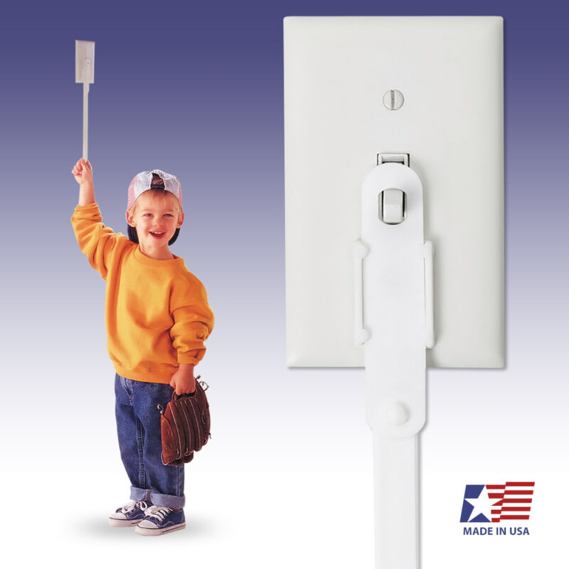 Light Switch Extender ** 2-PACK ** for Kids Children Toddlers Extension