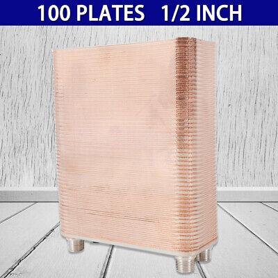 - 100Plate Brazed Plate Exchanger 1/2