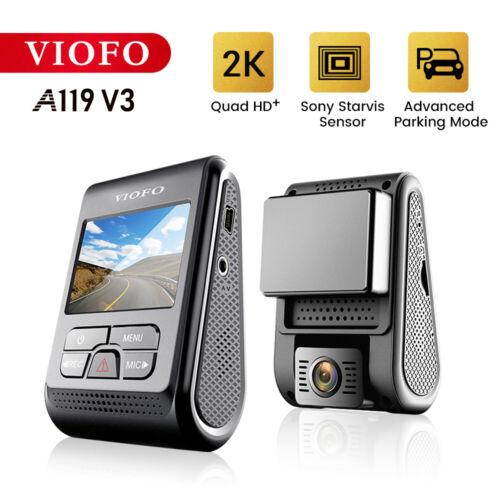 VIOFO A119 V3 Dash Cam 2K 2560x1600P Quad HD+ Car Dash Camera with GPS Logger