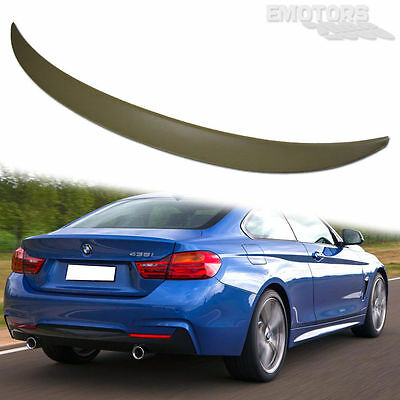 ABS Paint #668 BMW F36 Gran Rear Boot Trunk Spoiler Wing P Style SHIP FROM LA