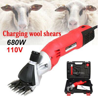 680w Sheep Shears Electric Goat Clipper Grooming Machine Livestock Farm Shears