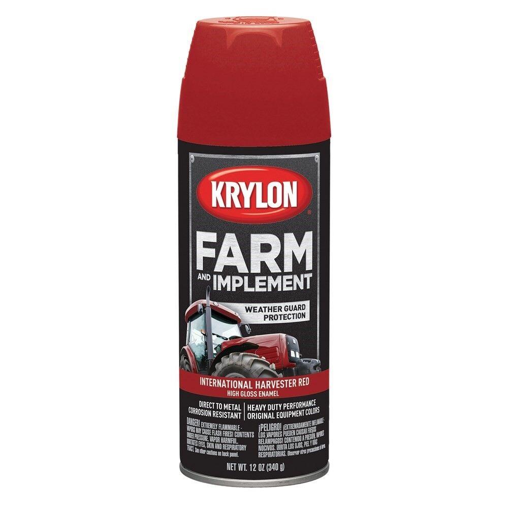 Krylon® Farm & Implement Paint - International Harvester Red, 12 oz #7201-309