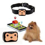 Deest69 Pet Dog Cat GPS Tracker Waterproof Collar Real Time Locator