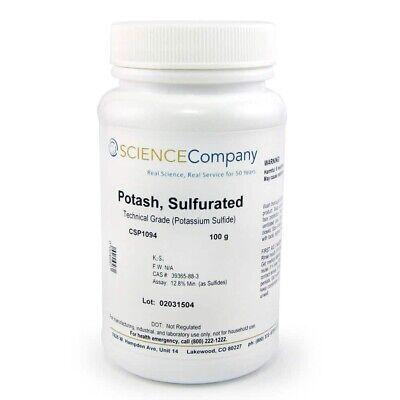 Potash Sulfurated100g Liver Of Sulfur Patina Copper Silver