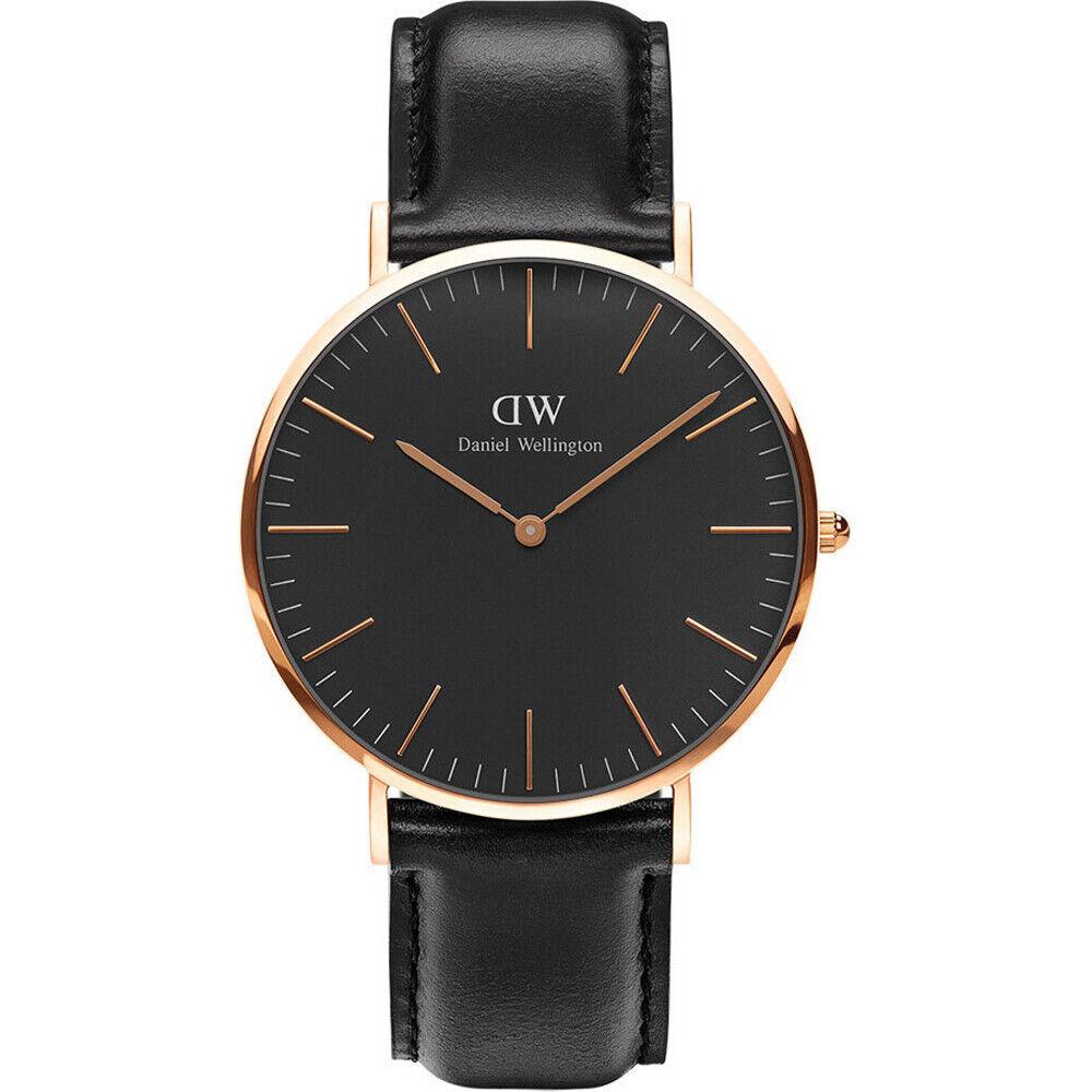 New Daniel Wellington Classic Sheffield Black Dial 40 MM Watch DW00100127