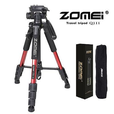 Zomei Q111 Professional Heavy Duty Aluminium Tripod&Pan Head for DSLR Camera MX