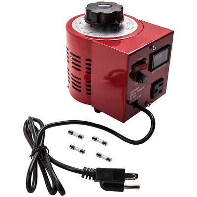 500w Ac Voltage Regulator Variac Variable Auto Transformer 110v Metered 130v