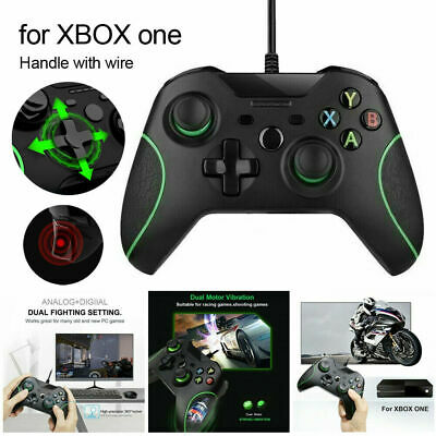 FOR MICROSOFT XBOX ONE SERIES X S WIRED CONTROLLER USB PC GAME...