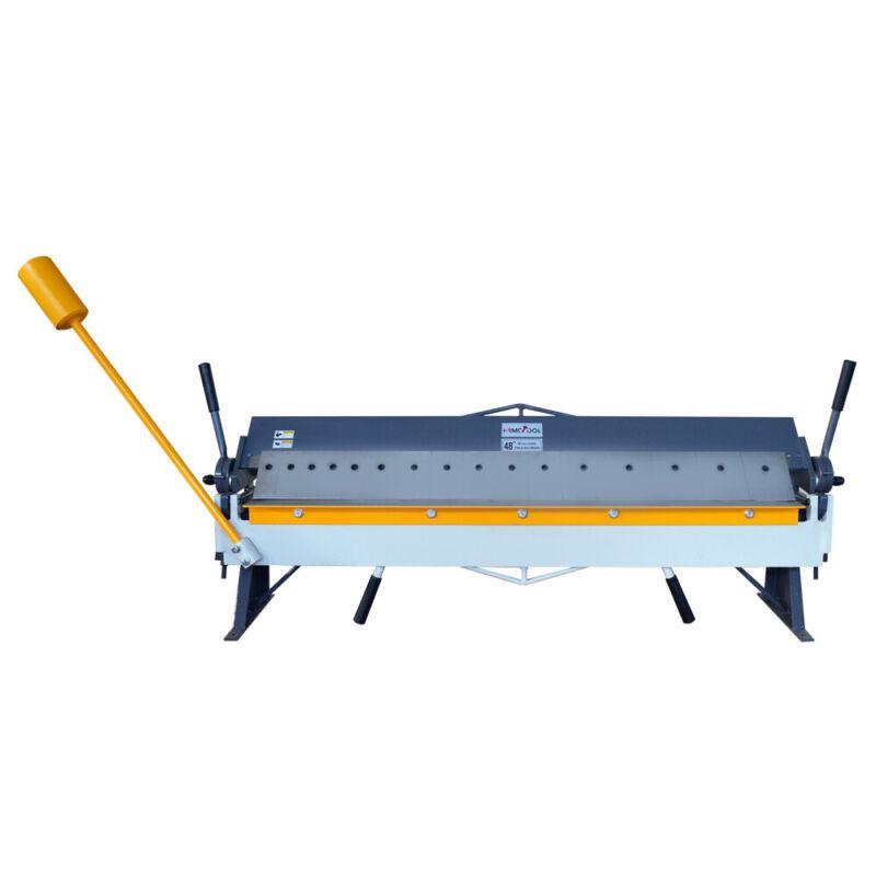 """Box and Pan Brake 48"""" x 16 Gauge Sheet Metal Bending Machine"""