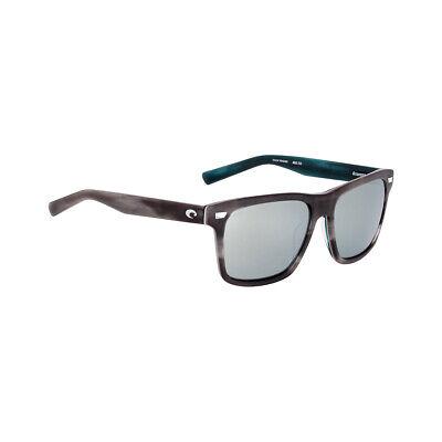 Costa Aransas Silver Mirror Glass Lens Unisex Sunglasses ARA205OSGGLP**Open Box*