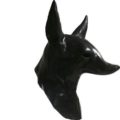 Beast Halloween Mask (Egyptian Anubis Mask Halloween Cosplay Latex Wolf Masquerade Mask Party)