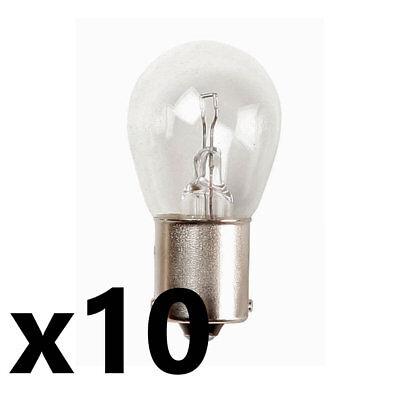 10x 382 12v 21w SCC BA15s Bulb Brake/Indicator/Reverse/Rear Fog Car Van