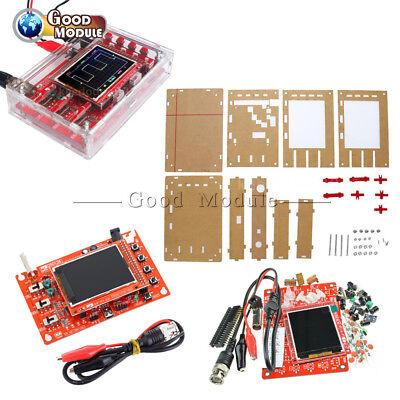 2.4 Inch Tft Dso138 Digital Oscilloscope Acrylic Case Smd Soldered Diy Kit