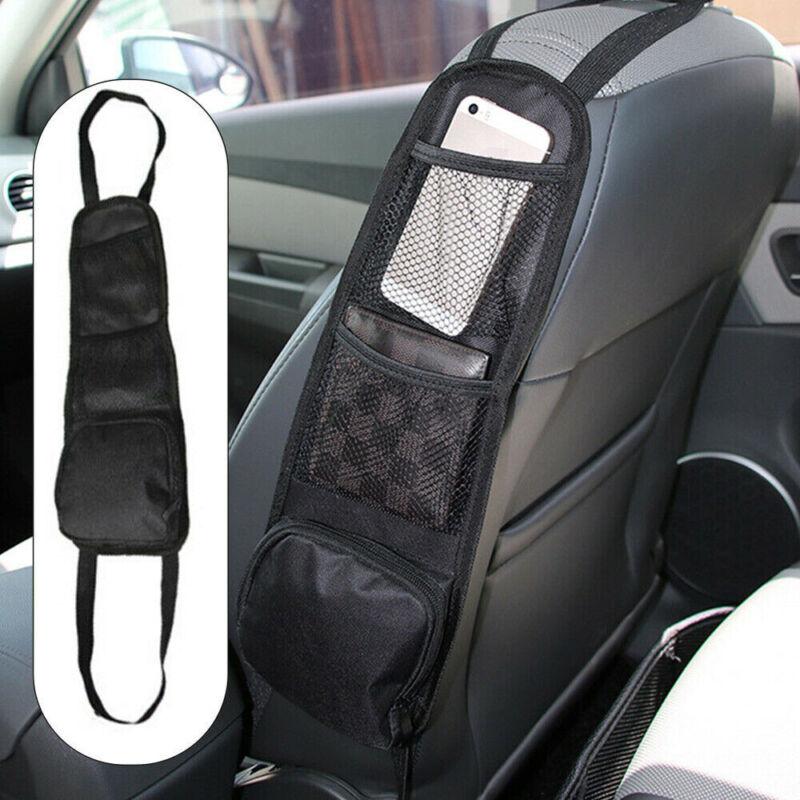 Universal Mesh Pocket Hanging Bag Boot Car Seat Tidy Storage Organiser Net Bags