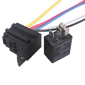 car 30a amp 12v relay kit spdt for fan fuel pump light. Black Bedroom Furniture Sets. Home Design Ideas