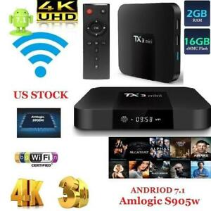 LATEST BRAND NEW ANDROID TV 7.1/6.0 4K S905X/S905W/AVOV/BUZZ TV/MAG254/MAG256 $65 TO $165 IPTV KODI 17.6 TERRARIUM TV