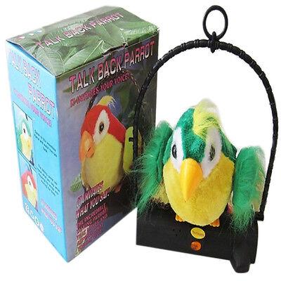 Waving Wings Talking Talk Parrot Imitates