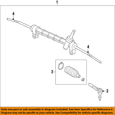 Cadillac GM OEM 10-16 SRX-Rack And Pinion Complete Unit 15950145