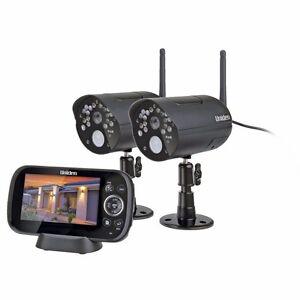 UNIDEN G1420 Guardian Wireless Surveillance Security System 2 Cameras Shops Home