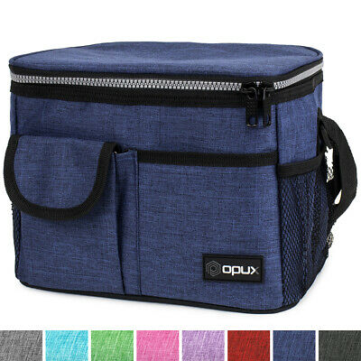 Insulated Lunch Bag Leakproof Thermal Bento Cooler Tote for Women and Men (Coolers For Womens)