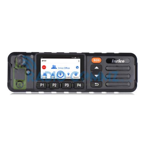 Two Way Radio Licence Free 4G Walkie Talkie Inrico TM7 Plus POC Base Car Control