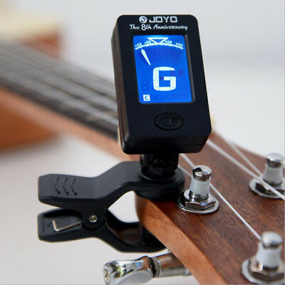 Chromatic Clip-On Tuner for Acoustic Guitar Bass Violin Ukulele Ornate Best CL