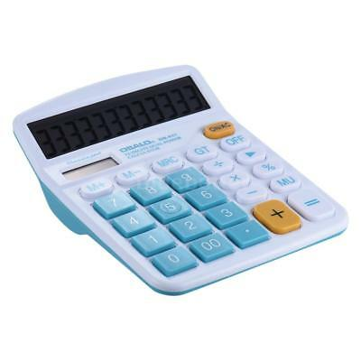 12 Digit LCD Portable Standard Function Desktop Calculators Large Buttons P3V3