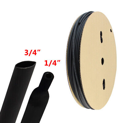 Heat Shrink Tubing 31 Ratio Marine Grade Wirescable Adhesive Lined 8ft 34