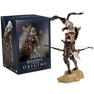 Assassin's Creed Origins Bayek Senu Eagle Aco Game Action Figure Statue Toy HOT