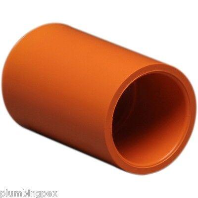 Blazemaster 1 Cpvc Coupling Fire Sprinkler System Orange Pipe Fitting