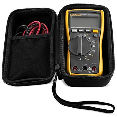 Hard Case Fluke 115 117 Digital Multimeter Carrying Semi-waterproof Case Only