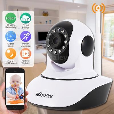 KKmoon 1080P CCTV IP Kamara IR Nachtsicht Überwachungskamera WIFI Wireless Z1K7 ()