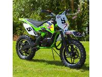 mini moto rebo dirt bike 2 stroke 49 cc new