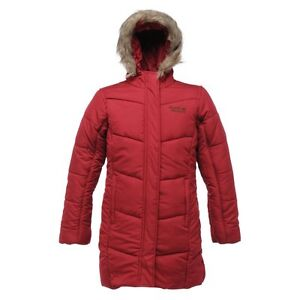 RRP £45 GIRLS REGATTA LONG HOODED INSULATED JACKET/COAT AGE 3-15yrs Blsfl