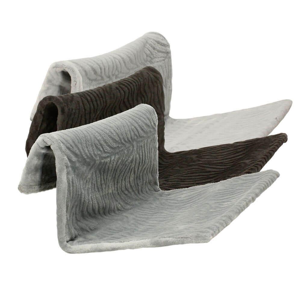 Katzenhängematte Heizungsliege Hängematte Heizkörperliege schwarz anthrazit grau