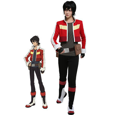 Keith Red Lion Outfit Halloween Animation Cosplay Costume Legendary Defender - Mens Lion Halloween Costume