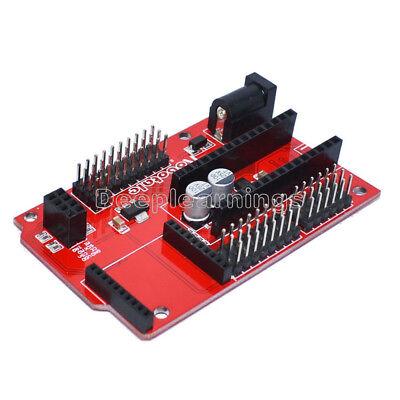 New Nano 328p Io Shield Expansion Board Wireless Xbee Socket For Arduino