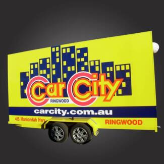 10x5 Advertisement Trailer Campbellfield Hume Area Preview