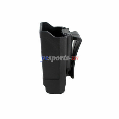 Single Magazine Holster Rapid Double Stack Mag Pouch Holder for 9mm to .45 - Double 9mm Magazine Pouch