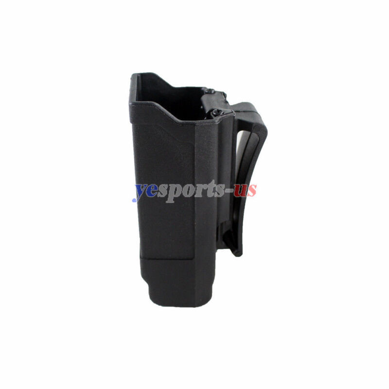 Single Magazine Holster Rapid Double Stack Mag Pouch Holder for 9mm to .45 cal