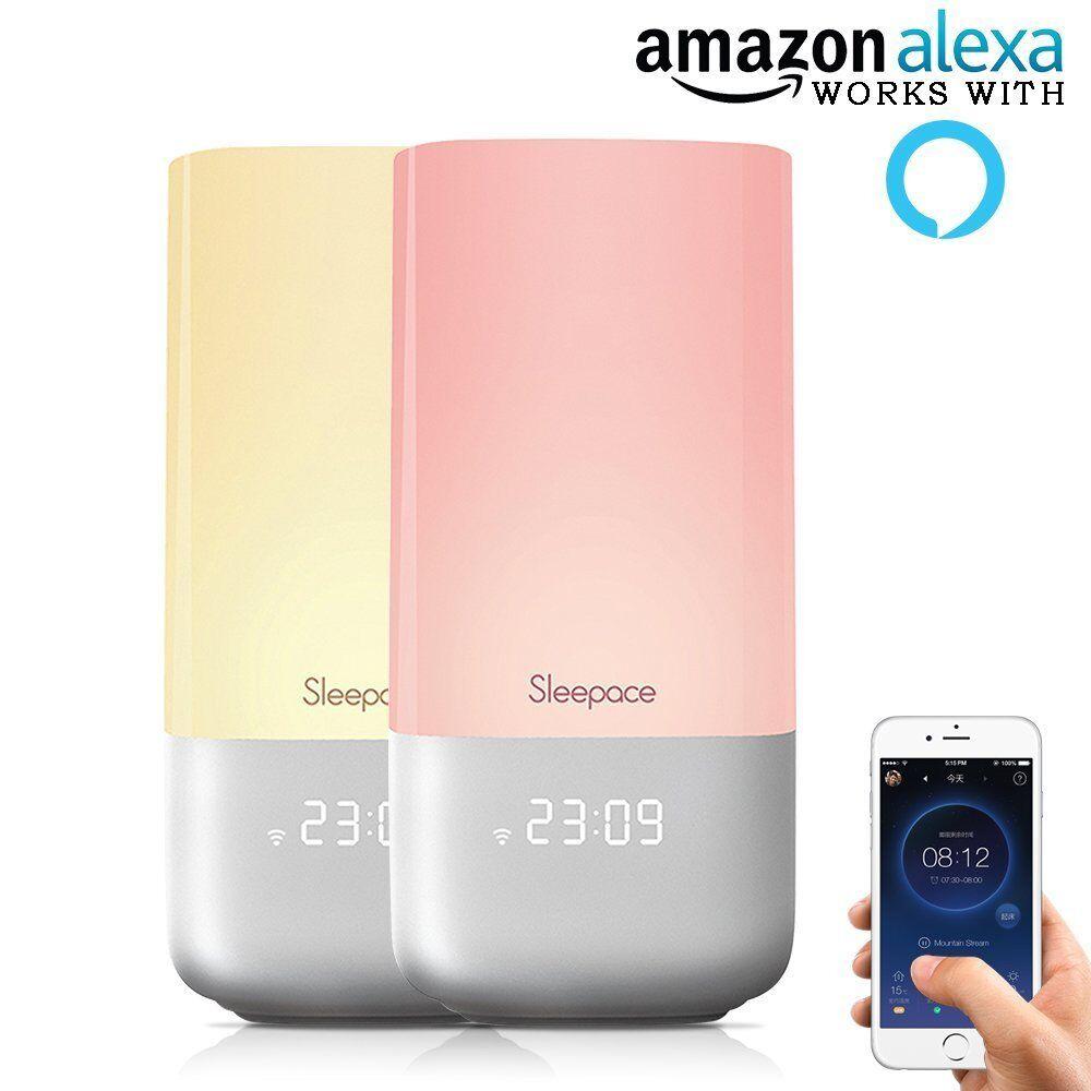 Sleepace Nox Smart Sleep Aid System Night Light Sleep Tracker with Amazon Alexa