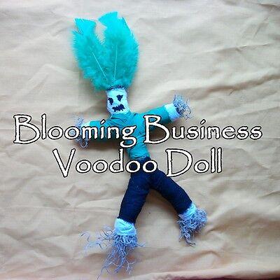 Blooming Business Voodoo Doll Ritual Spell Kit Money Success Financial Plan Work