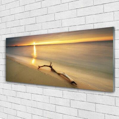 Glasbilder Wandbild Druck auf Glas 125x50 Meer Strand Landschaft