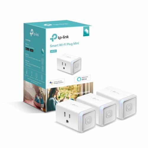 TP-Link 3-Pack Kasa Wi-Fi Plug works w/ Alexa & Google Assistant (HS105P3)