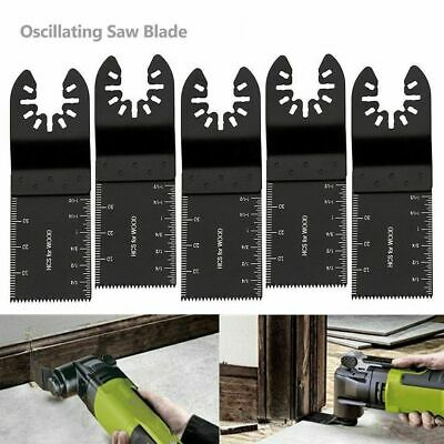 Universal Oscillating Multi Tool Saw Blades Carbon Steel Cutter Diy 5pcs 34mm