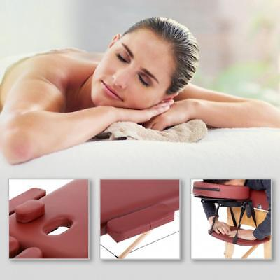 Massage Table Massage Bed Spa Bed 73″ Long Portable 2 folding W/ Carry Case Health & Beauty